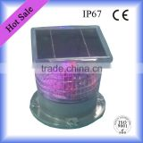 Waterproof Customized Solar Led Warning Light ( Used in Ships,Boats,Yacht,Buoys,Airport etc )