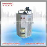 Electric AC motors single phase voltage regulator