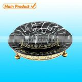 2014 item! decorative 200mm glass petri dishes with pattern