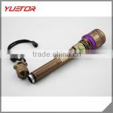 Hot sale high power rechargeable CREE T6 LED Flashlight torch