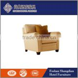 Hotel General use and simple style wooden material single seat sofa chair for sale JD-XXY-022                                                                         Quality Choice