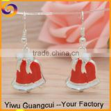 Christmas gifts crafts bell pendant earring