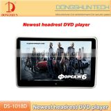 High Resolution 1024*600 quality 10.1 inch TFT HDMI player Touch screen car dvd headrest monitor