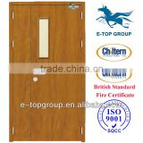 90 minute Emergency Exit Wooden Fireproof Door