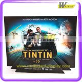 New Design Hot Selling Corrugated Cardboard Movie Film New Launch Advertisement Display Standee
