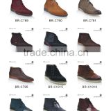 Warm winter boot made by cow leather fashion high quality ankle men boots