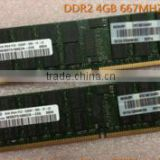 100% original brand server ram DDR2 RAM ECC 1GB 2GB 4GB 400/667/800M HZ for server for you