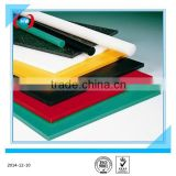 SGS standard sheeting/ PE thick flat sheet/ black hard plastic slip pad