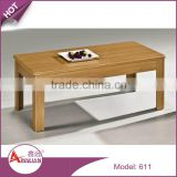 Hot sale living room furniture sets simple design mdf board cheap modern durable wooden coffee table