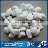 polished aquarium decoration white beach pebbles cobble stone
