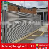 custom shape wall aluminum cast fence