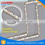 Newest Tech Coated Super thin Silicon Waterproof IP65 300 LEDs 5m DC12V 2835 smd led epistar chip led strip light