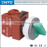 CNTD Smart Button Switch With Lamp Self-Locking Flat Button Switch Opening Pore 220v C3SNL