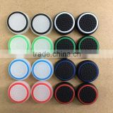 2015 newest Wholesale Silicone noctilucent Key Protector Thumb Grips Joystick Caps for Xbox 360/ Xbox One /PS4 / PS3