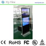 46 Inch Floor Standing indoor LCD Digital Signage Advertising Player with touch screen                                                                                                         Supplier's Choice