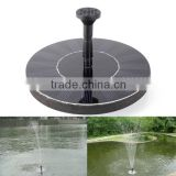 Decorative Mini Solar Water Pump Floating Solar Pool Pump Kit Pond Garden Solar Fountain Pump                                                                         Quality Choice