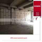 2015 china low cost prefabricated house and wall panel precast fiber cement eps sandwich panel