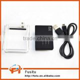 Extended Battery + Extended Waterproof Housing Back Door + USB Charging Cable for Gopro Hero 3+