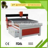 China factory supply cnc router for MDF/PDF/GALSS/plastic wood cnc advertising router/boring machine QL-1218