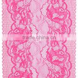 Latest Spandex & Nylon trimming Lace/Elastic Lace for Dresses and Other Decorations