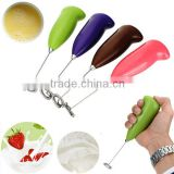 NEW Kitchen Electric for Egg beater Tool Handle for Egg beater Milk Drink Coffee Shake Frother Whisk Mixer Foamer
