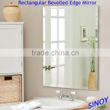 Waterproof Clear or Colored Frameless Beveled Glass Mirror (Bevelled Mirror) in Square, Round, Oval or any other shapes