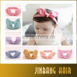 1 PCS baby hair accessories cute girl kids hairband knot rabbit shape head-wear hairband
