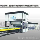 SKFB -2436W Bending Glass Curved Glass Tempering Line