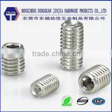 China manufacture stainless steel din913 set screw                                                                         Quality Choice