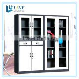 metal lockable cabinet with glass door, bookcase, filing cabinet                                                                         Quality Choice