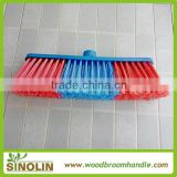 SINOLIN Price Plastic Cleaning Household Broom wholesale broom best selling plastic broom