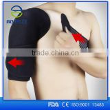 Alibaba express aofeite sport single SBR shoulder support, shoulder brace for men