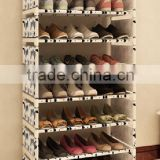 China made cheap non woven shoes box cabinet