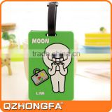 Wholesale Custom Line Silicone Luggage Tag Strap