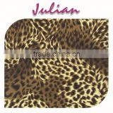 yellow coffee leopard N4020 half shiny plain pattern nylon ultr thin Spandex electric print fabric scissors