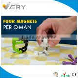 Mini Flexible Strong Q-man Magnets Office Supplies