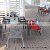 HOT SALE garden rattan dining set wholesale party chairs cheap outdoor furniture sets wicker tables chair sets
