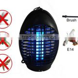 CE/GS/EMC/ROHS approval Environmental protection indoor plastic oval mosquito killer lamp,uv lamp insect killer