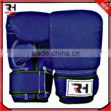 Leather Fight Bag Gloves, Punch bag gloves, Thai Grappling Kick MMA bag Gloves