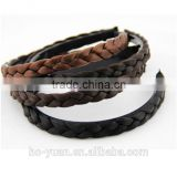 latest colorful braid wig hair band fashion women headband hoop accessory hot sale head jewelry