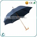 High quality standard mens golf walking stick crutch umbrella