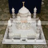 Big Marble Taj Mahal Replica Manufacturers, Taj Mahal Indian Ethical Traditional Marble Handmade Replica