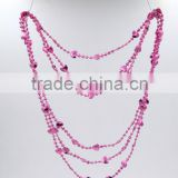 Valentine's day party Bead chain new necklace valentines flashing led necklace