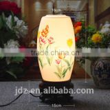 Wedding Gift Mother day's Gift valentines gift AntiqueTable Lamp Jingdezhen Ceramic Bamboo Craft Bedside LED E27 220v 110v