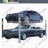 four pillars hydraulic lifting machine car lift equipment 3.5TON with CE and ISO certification