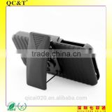 made in china 2 in 1 Belt Clip Detachable Holster Combo PC Hard Case For Apple iPhone 5 g