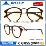 Fashionable high quality design acetate mix metal eyewear glasses,optical frames,eyeglasses manufacturer from China