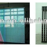 led strip curtain display, indoor full color p10 flexible led display, flexible indoor LED curtain display