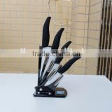 4pcs set of Ceramic Fruit Knife, Paring Knife, Utility Knife and Chef Knife with Acrylic Stand