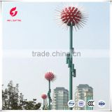 Ball design decorative LED Landscape Lamps solar Garden light